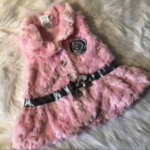 Soft Pink 12 Mo. Little Lass Dress